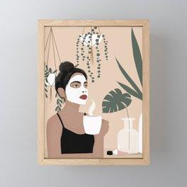 Pamper  Framed Mini Art Print