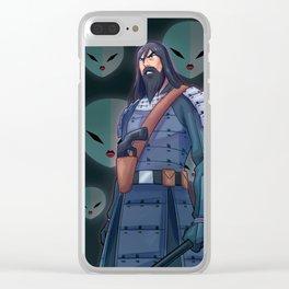 Samurai Jack Clear iPhone Case