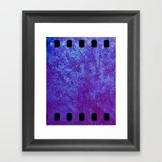 Pink & Purple Blossoms Framed Art Print