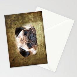 Pug Stationery Cards