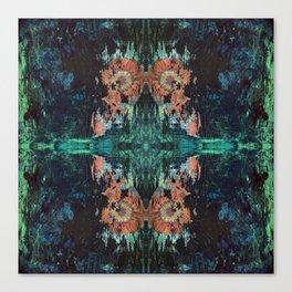 Green Lotus Canvas Print