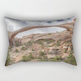 Arch the Gap Rectangular Pillow