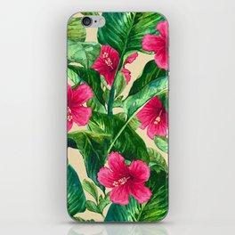My Tropical Garden 25 iPhone Skin