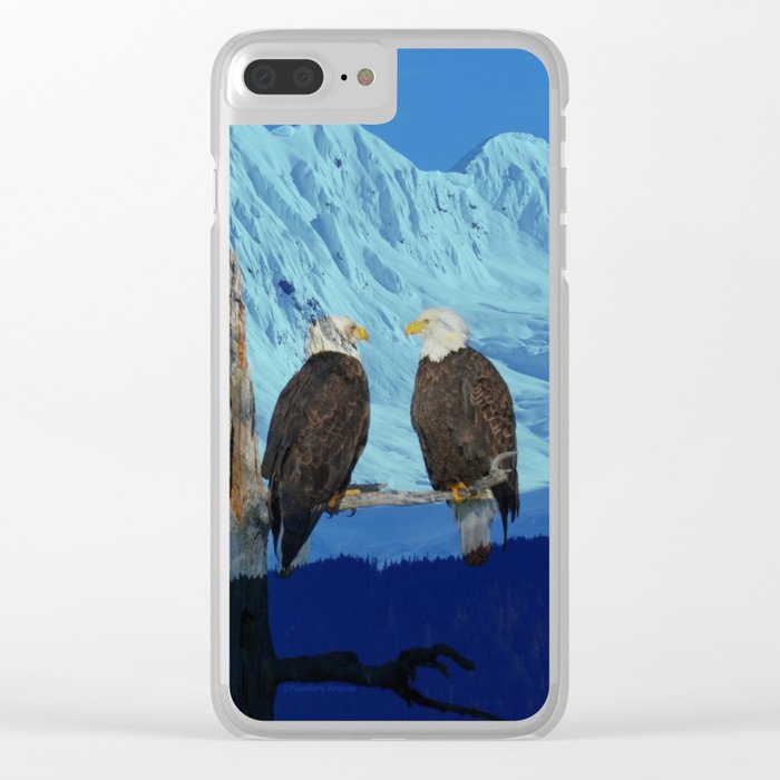 Seeing Double! Clear iPhone Case