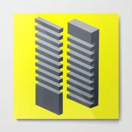 'Geometric Design' Metal Print