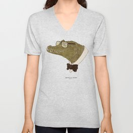 Spectacle(d) Caiman Unisex V-Neck