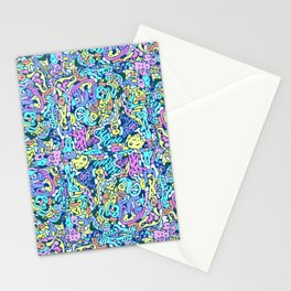 infinite scribbles Stationery Cards