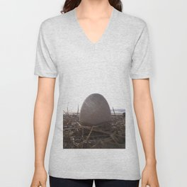 Patience Egg Unisex V-Neck