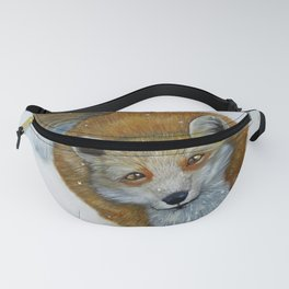 Fox and Chickadee Fanny Pack