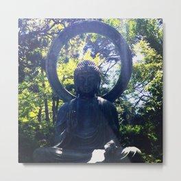 Buddha Says Relax Metal Print
