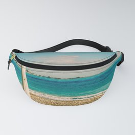Seacoast of Cagnes-sur-Mer in a sunny winter day Fanny Pack
