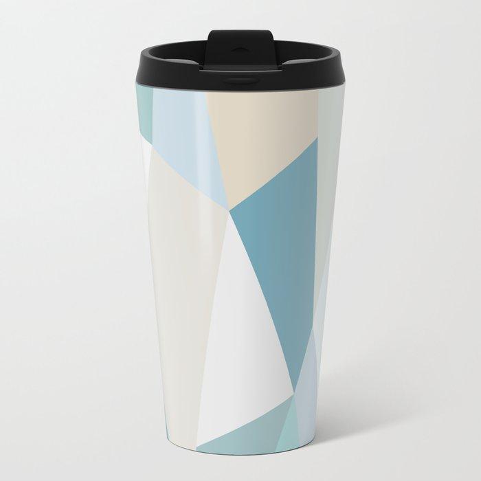 SPRING LOVE { BLUE } Travel Mug