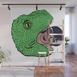 Dinosourprise Wall Mural