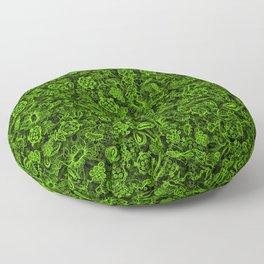 Green micropets Floor Pillow