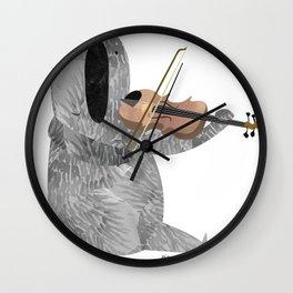 Mr. Stubbs  Wall Clock