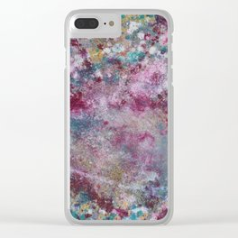 Vernal Galaxy Clear iPhone Case