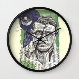 Sartre  - Nothingness Wall Clock