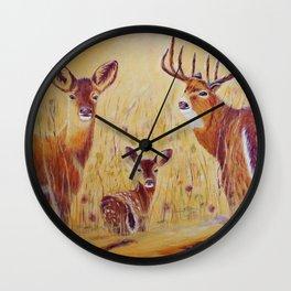 Looks   Regards Wall Clock