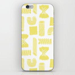 Pasta Pattern iPhone Skin