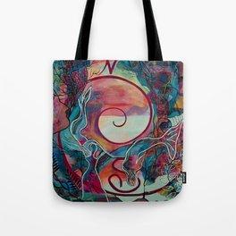 Mermaid Transformation Tote Bag