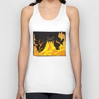 dungeons and dragons Tank Tops featuring DUNGEONS & DRAGONS - INTRO by Zorio