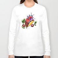 taco Long Sleeve T-shirts featuring Taco  by alxbngala
