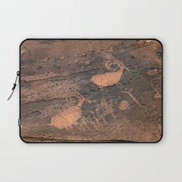 Desert Rock Art - Petroglyphs - II Laptop Sleeve