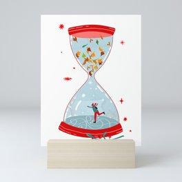 Christmas is coming Mini Art Print