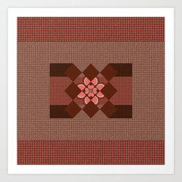 pattern and texture  Art Print