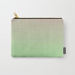 STATIC LIFE - Minimal Plain Soft Mood Color Blend Prints Carry-All Pouch