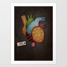 Soft-Hearted  Art Print