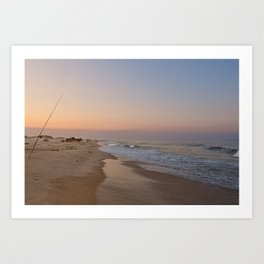 Down by the Shore Art Print