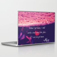 alice wonderland Laptop & iPad Skins featuring Wonderland by Josrick