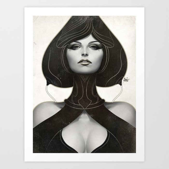 Discover the motif PEPPER SPADE by Stanley Artgerm Lau as a print at TOPPOSTER