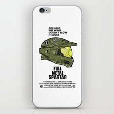 Full Metal Spartan iPhone & iPod Skin