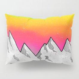 Mountain Scene Pillow Sham