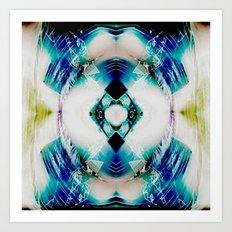 Neo Argyle Art Print