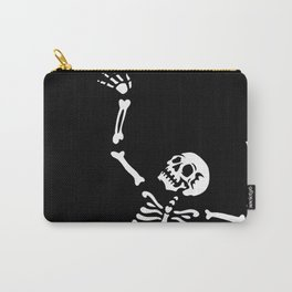 Pose of a dancing skeleton Carry-All Pouch