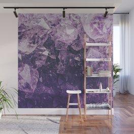 Amethyst Gem Dreams Wall Mural