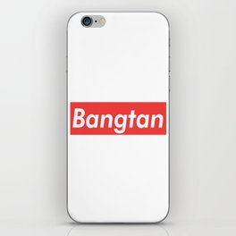 BTS Bangtan red iPhone Skin