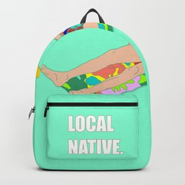 Local Native - Music Inspired Fan Cliche Digital Art Backpack