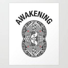 Vesica Piscis Awakening Art Print