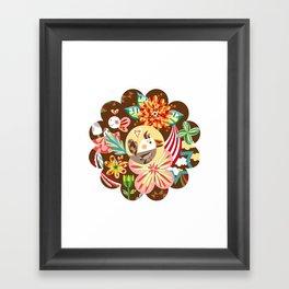The forest of flower Framed Art Print