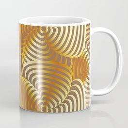 Gold floral art Coffee Mug