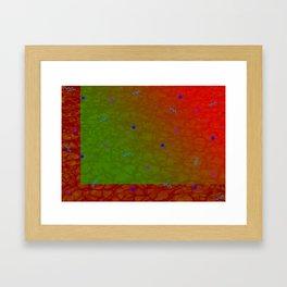 Pool Pattern Framed Art Print