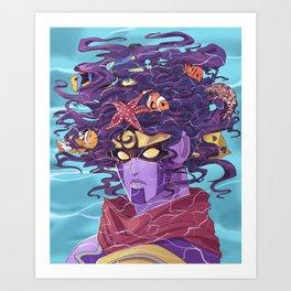 Star Fishes Art Print