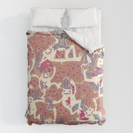 The orchard is such a very silly place Comforters