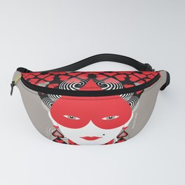 The queen of hearts Fanny Pack