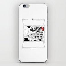 London window iPhone & iPod Skin