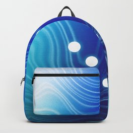 Blue Abstract Passion Backpack